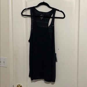 NWT Nike Dri Fit black racer back tank XL